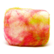 Load image into Gallery viewer, needle felt soap - frangipani