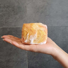 Load image into Gallery viewer, Natural exfoliating felted soap by Bruntwood Lane - Honeysuckle