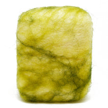 Load image into Gallery viewer, Exfoliating felted soap by Bruntwood Lane - Lemongrass (standing)
