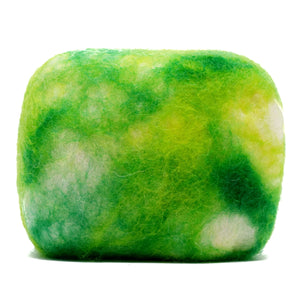 Natural exfoliating felted soap by Bruntwood Lane - Lemon Myrtle