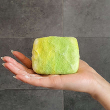 Load image into Gallery viewer, Natural exfoliating felted soap by Bruntwood Lane - Lime Blossom