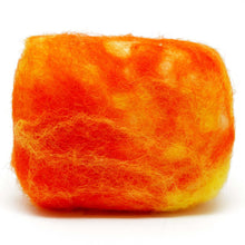 Load image into Gallery viewer, Exfoliating felted soap by Bruntwood Lane - Mango Butter (horiztontal)
