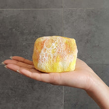 Load image into Gallery viewer, Natural exfoliating felted soap by Bruntwood Lane - Manuka Honey