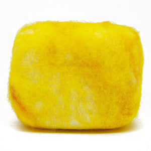 Exfoliating felted soap by Bruntwood Lane - Manuka Honey (horizontal)