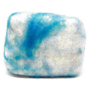 Exfoliating felted soap by Bruntwood Lane - Oatmeal and Milk (horizontal)