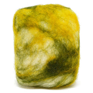 Exfoliating felted soap by Bruntwood Lane - Olive Oil & Cocoa Butter (standing)