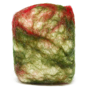 Exfoliating felted soap by Bruntwood Lane - Patchouli (standing)