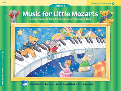 Music For Little Mozarts Piano Method Book Level 2 [product type] Luscombe Music - Luscombe Music