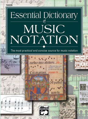 Essential Dictionary of Music Notation [product type] Luscombe Music - Luscombe Music