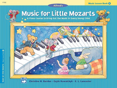 Music For Little Mozarts Piano Method Book Level 3 [product type] Luscombe Music - Luscombe Music