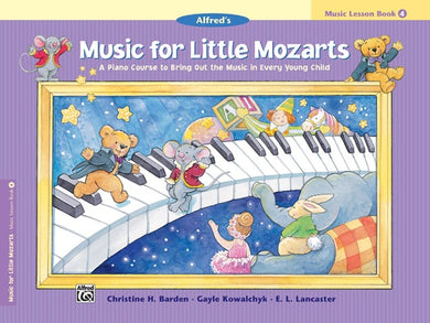 Music For Little Mozarts Piano Method Book Level 4 [product type] Luscombe Music - Luscombe Music