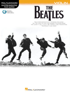 The Beatles Instrumental Play Along Sheet Music