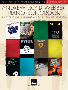 Andrew Lloyd Webber Piano Songbook for Piano Solo [product type] Luscombe Music - Luscombe Music