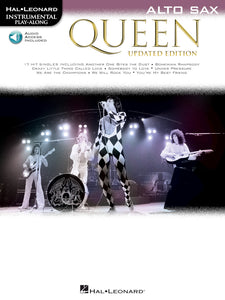 Queen Instrumental Play-Along Book with Audio Access