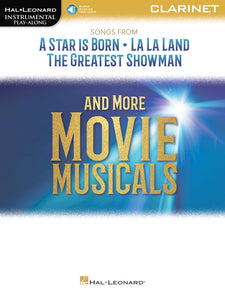 A Star is Born, La La Land, The Greatest Showman and More Movie Musicals Instrumental Play-Along Book with Audio Access