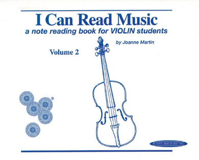 I Can Read Music: A Note Reading Book for Violin Students Book 2