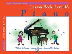 Alfred's Basic Piano Library Lesson 1A [product type] Luscombe Music - Luscombe Music