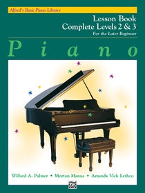 Alfred's Basic Piano Library Lesson Complete Level 2 & 3 [product type] Luscombe Music - Luscombe Music