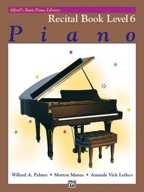 Alfred's Basic Piano Library Recital 6 [product type] Luscombe Music - Luscombe Music
