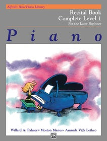 Alfred's Basic Piano Library Recital Complete Level 1 [product type] Luscombe Music - Luscombe Music
