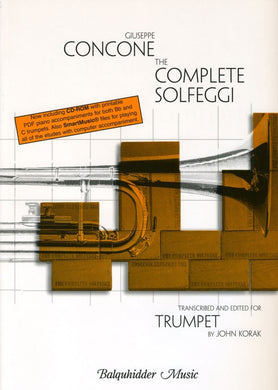 Concone The Complete Solfeggi for Trumpet