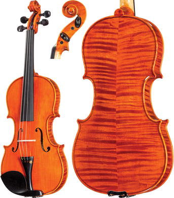 August F. Kohr Series K550 4/4 Size Advancing Violin Outfit [product type] Luscombe Music - Luscombe Music