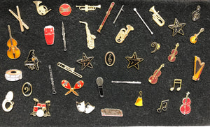 Musical Instrument Pin [product type] Luscombe Music - Luscombe Music