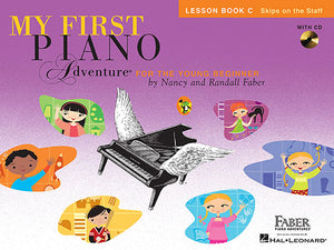 Faber & Faber My First Piano Adventure Lesson Book C with CD [product type] Luscombe Music - Luscombe Music