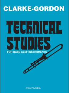 Clarke-Gordon Technical Studies for Bass Clef Instruments