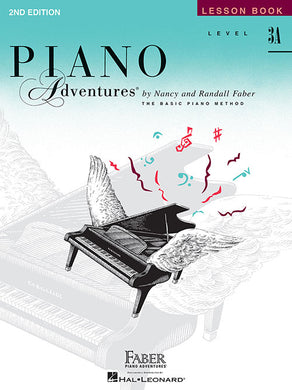 Faber & Faber Piano Adventures Book 2nd Edition Level 3A [product type] Luscombe Music - Luscombe Music