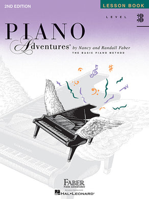Faber & Faber Piano Adventures Book 2nd Edition Level 3B [product type] Luscombe Music - Luscombe Music