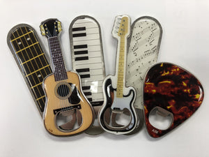 Musical Themed Magnetic Bottle Opener [product type] Luscombe Music - Luscombe Music