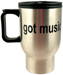 Got Music? Stainless Steel Insulated Travel Mug [product type] Luscombe Music - Luscombe Music