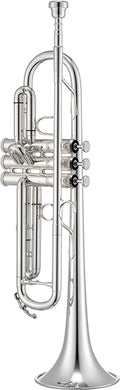 Jupiter JTR1100S Intermediate Silver-Plated Trumpet [product type] Luscombe Music - Luscombe Music