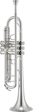 Jupiter JTR1110RS Intermediate Silver-Plated Trumpet [product type] Luscombe Music - Luscombe Music