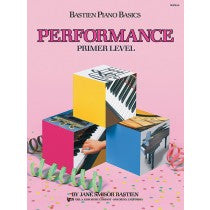 Bastien Piano Basics Performance Book