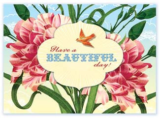 B114 Boxed cards - Have A Beautiful Day!