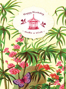CC190 Happy Birthday Make A Wish Bamboo