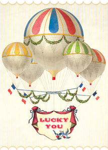 CC204 Lucky You Hot Air Balloons
