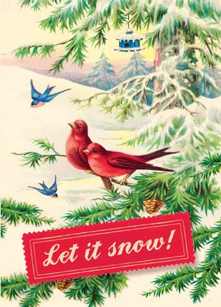 HCC237 Holiday Card - Let it Snow!