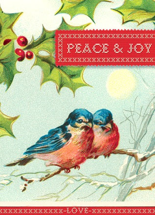 HCC238 Holiday Card - Peace and Joy