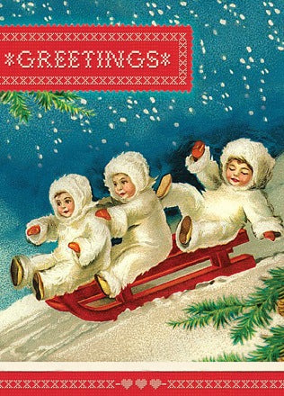 HCC244 Holiday Card - Greetings