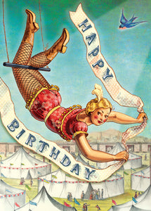 CC250 Happy Birthday Trapeze