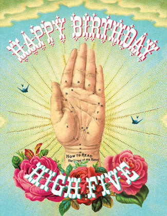 CC631 Happy Birthday High Five