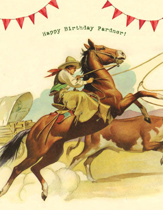 CC654 Happy Birthday Pardner!