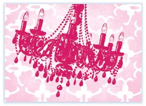 M116 Mini card - Chandelier