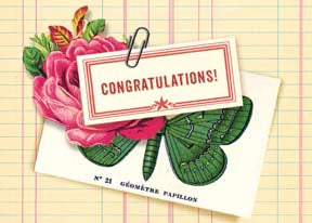 M150 Mini card - Congratulations!