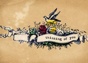 M164 Mini card - Thinking of you