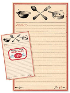 NP107 Notepad - Pantry