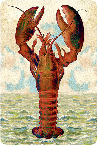 P107 Seaside postcards - Lobster